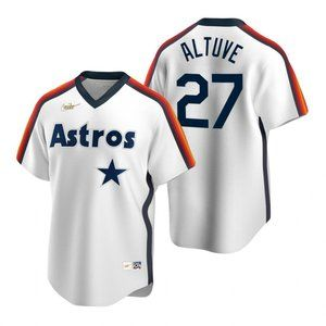 Houston Astros Jose Altuve White Home Jersey